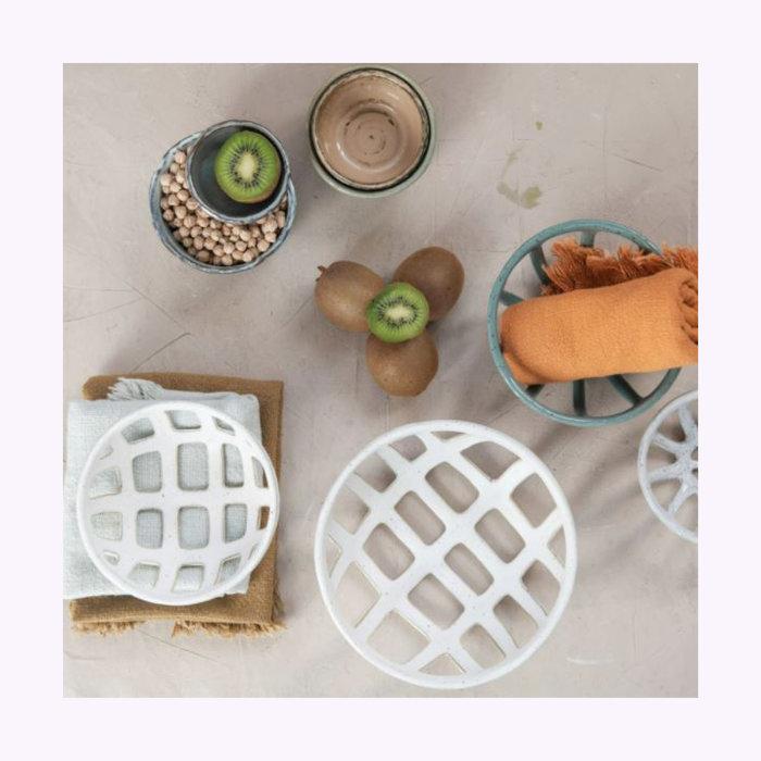 Creative Coop Big Green Basket