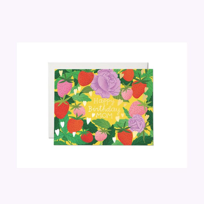 Carte Strawberry Mom Red Cap Cards