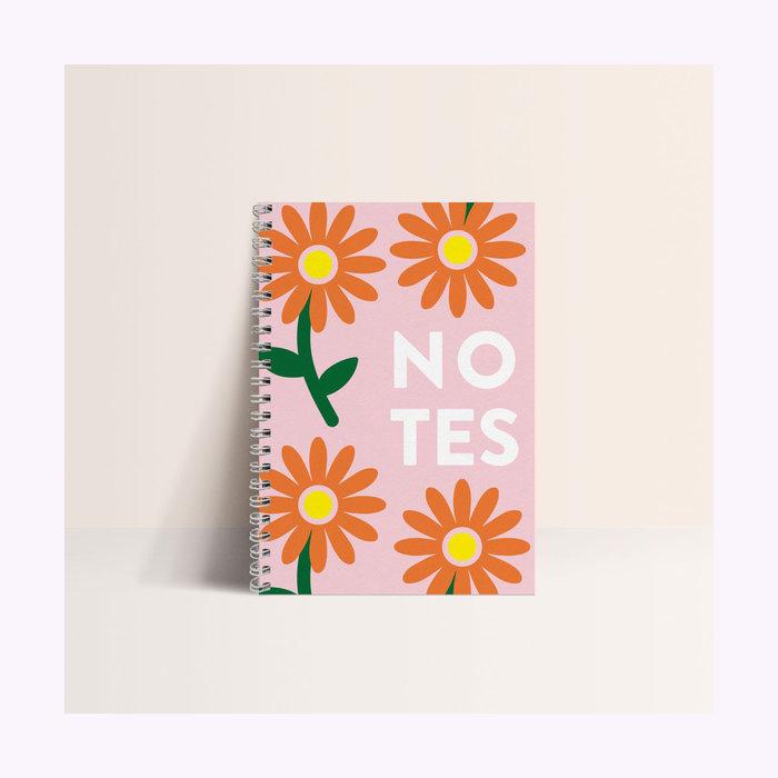 Papier & co Carnet Fleurs Papier & co