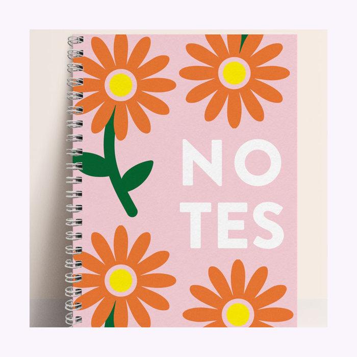 Carnet Fleurs Papier & co