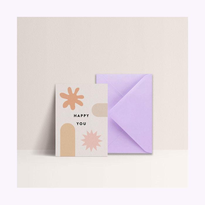 Papier & co Carte Happy you Papier & co