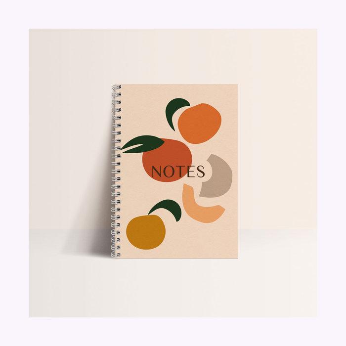 Papier & co Carnet Fruits d'été Papier & co