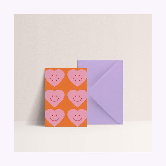 Papier & co Carte Coeur Papier & co