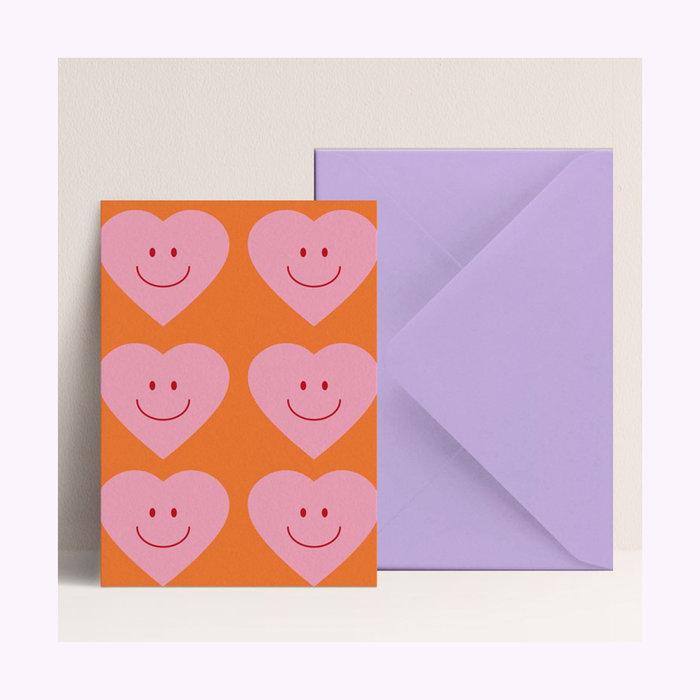 Carte Coeur Papier & co