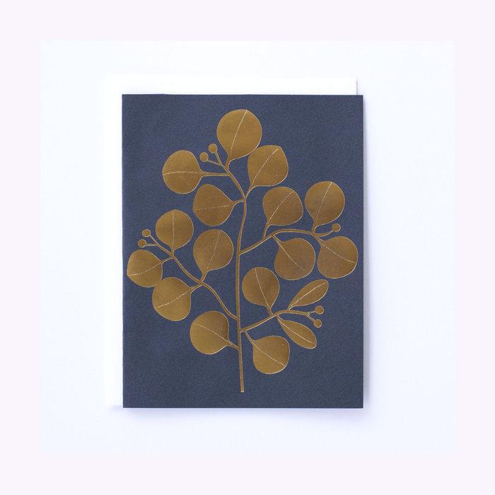Banquet Atelier Carte Golden Leaves Banquet Atelier