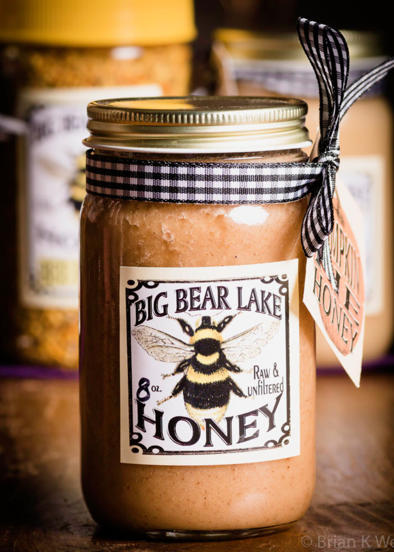 Big Bear Lake Honey Co Honey Wildflower Jar 8 oz