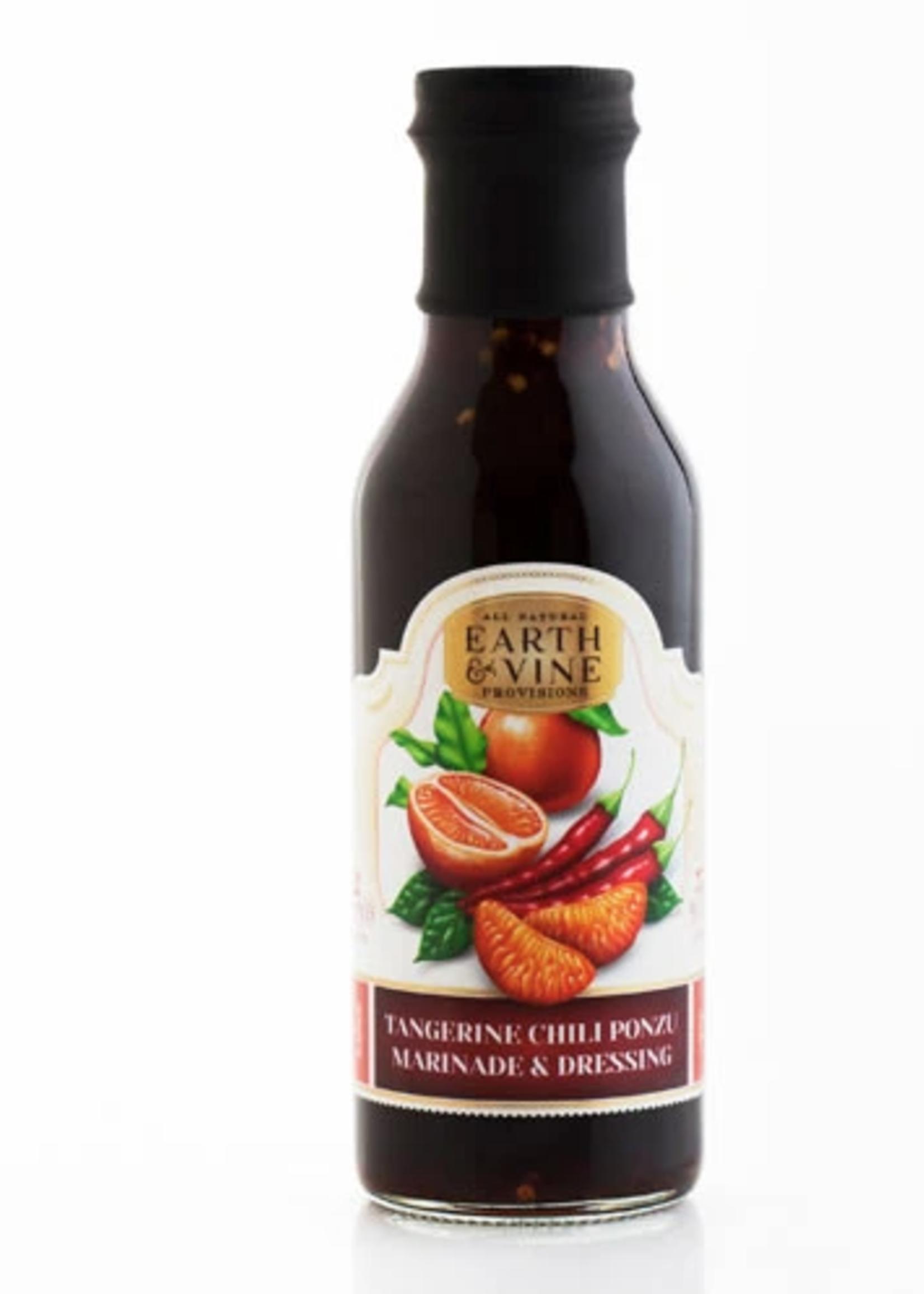 Earth & Vine Provisions, Inc. 12oz TANGERINE CHILI PONZU DIPPING SAUCE & MARINADE
