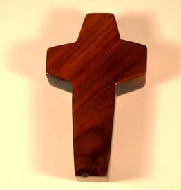 "Merry Crosses 4"" Merry Hand Crafted Aromatic Cedar Desk Cross"