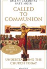 Ignatius Press Called to Communion, by Joseph Cardinal Ratzinger (paperback)
