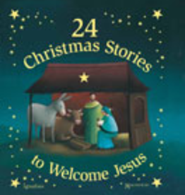 Ignatius Press 24 Christmas Stories to Welcome Jesus, Magnificat Press (hardcover)