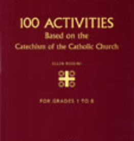 Ignatius Press 100 Activities Based on the Catechism of the Catholic Church, by Ellen Rossini (paperback)