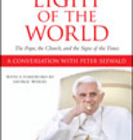 Ignatius Press Light of the World: The Pope, The Church, and The Signs of the Times, by Peter Seewald and Pope Benedict XVI (hardcover)