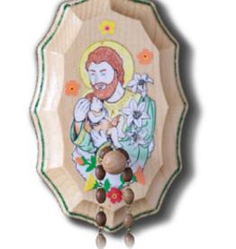 Illuminated Ink St. Joseph Wooden Rosary Holder Kit