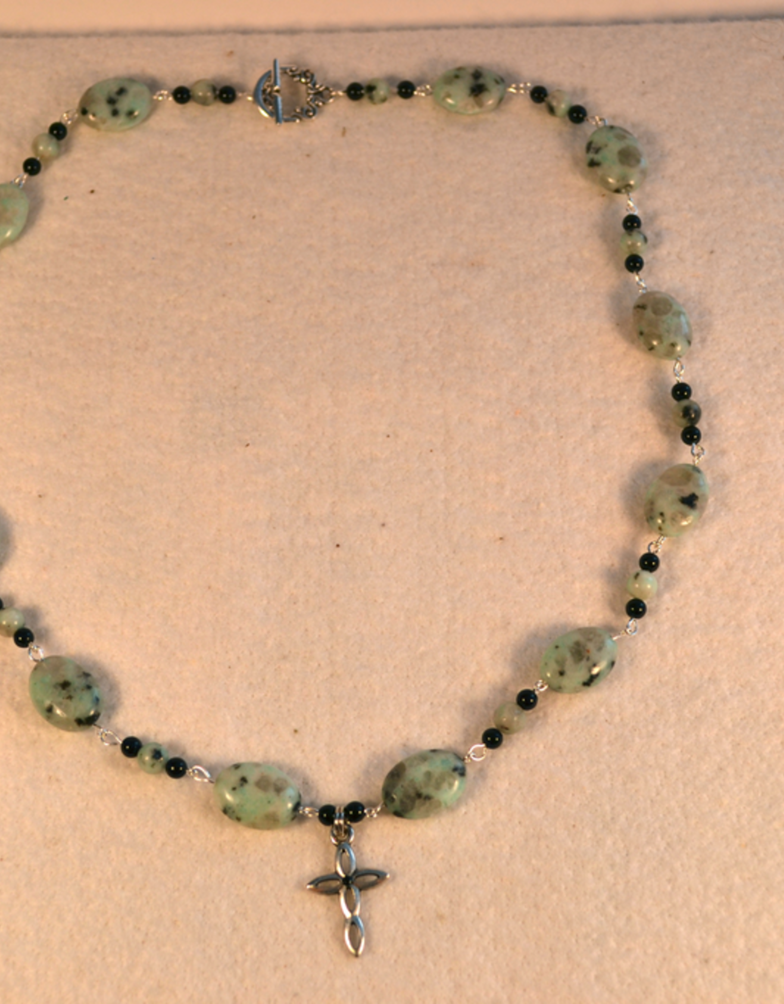 """Credo Catholic 23"""" Credo Catholic Hand Crafted Link Cross Necklace"""