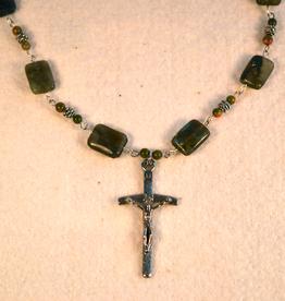 """Credo Catholic 33"""" Credo Catholic Hand Crafted Link Cross Necklace"""