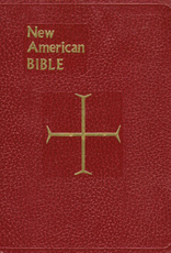 Catholic Book Publishing Full Size St. Joseph's Edition New American Bible, Red Imitation Leather