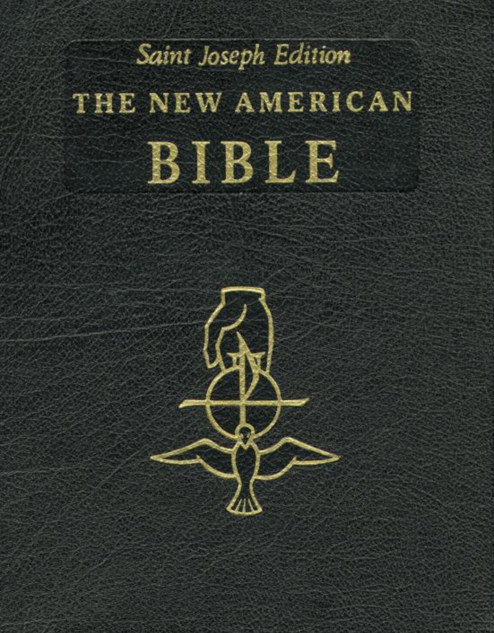 Catholic Book Publishing Full Size St. Joseph's Edition New American Bible, Black Bonded Leather Edition