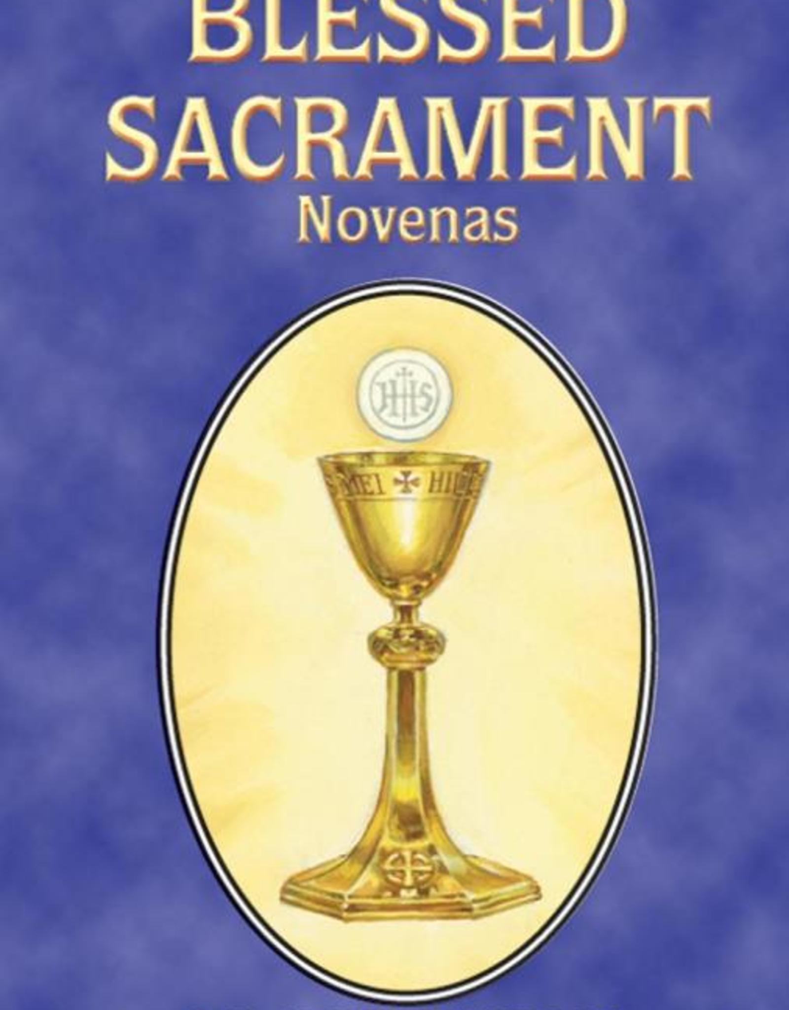 Catholic Book Publishing Blessed Sacrament Novenas, by Rev. Lawrence Lovasik