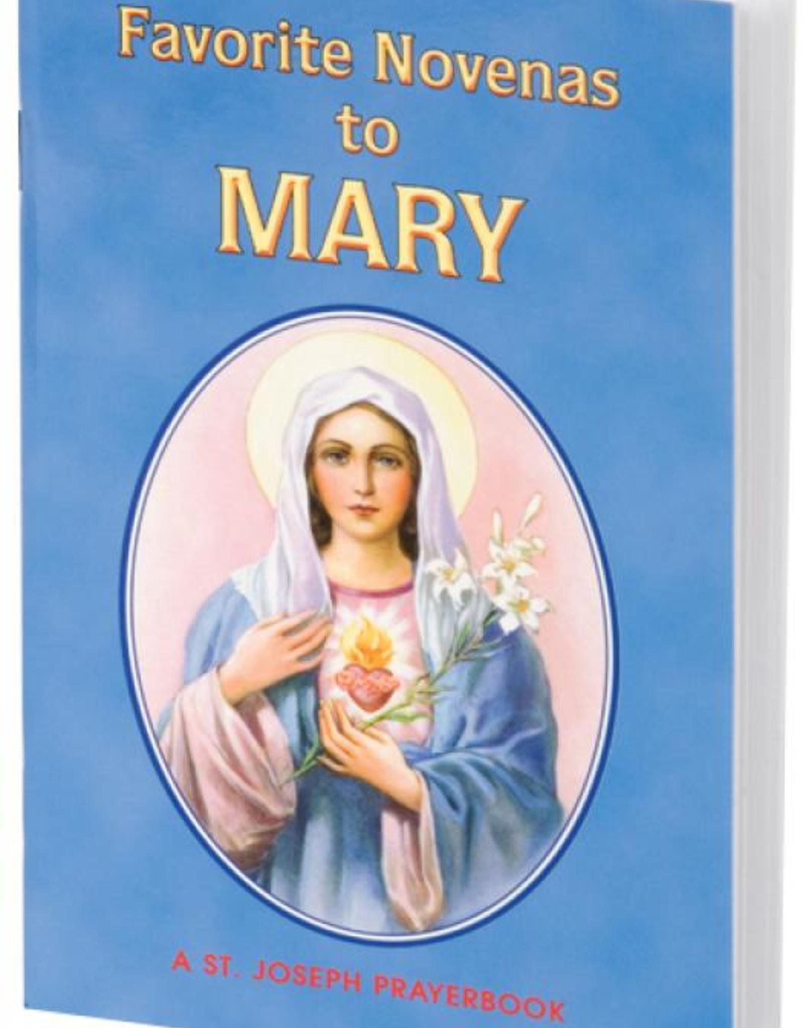 Catholic Book Publishing Favorite Novenas to Mary, by Rev. Lawrence Lovasik