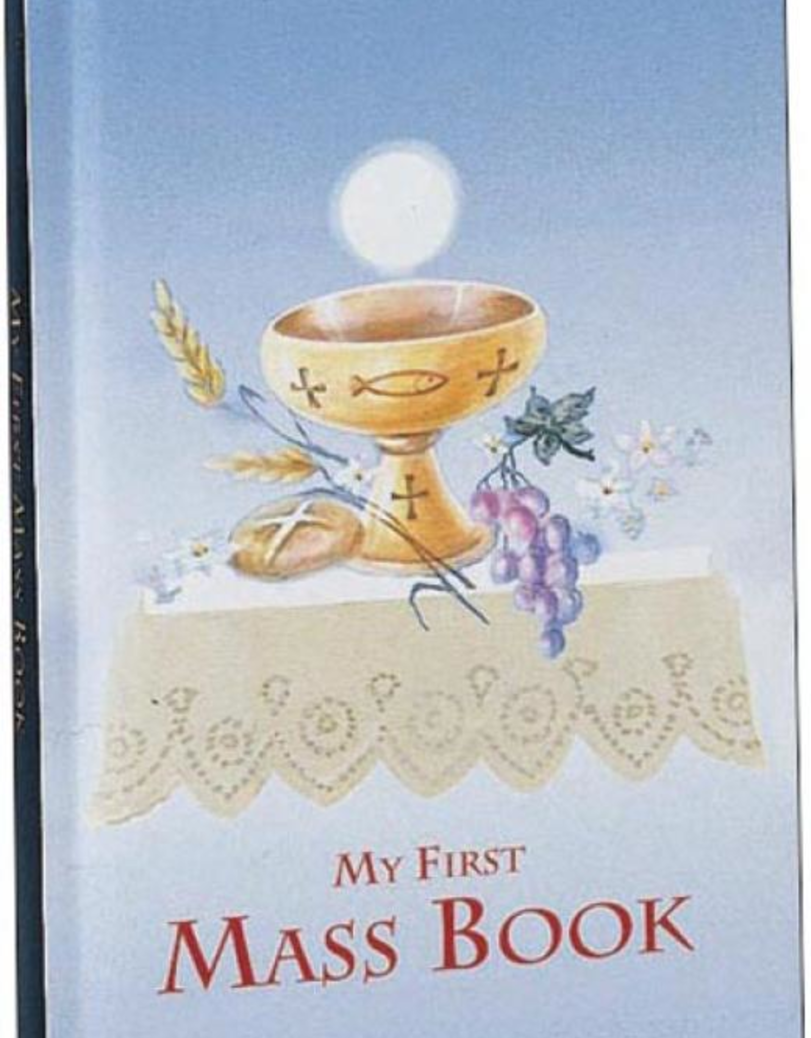 Catholic Book Publishing First Mass Book (for boys, My First Eucharist Edition)
