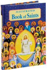 Catholic Book Publishing Illustrated Book of Saints, by Rev. Thomas Donaghy
