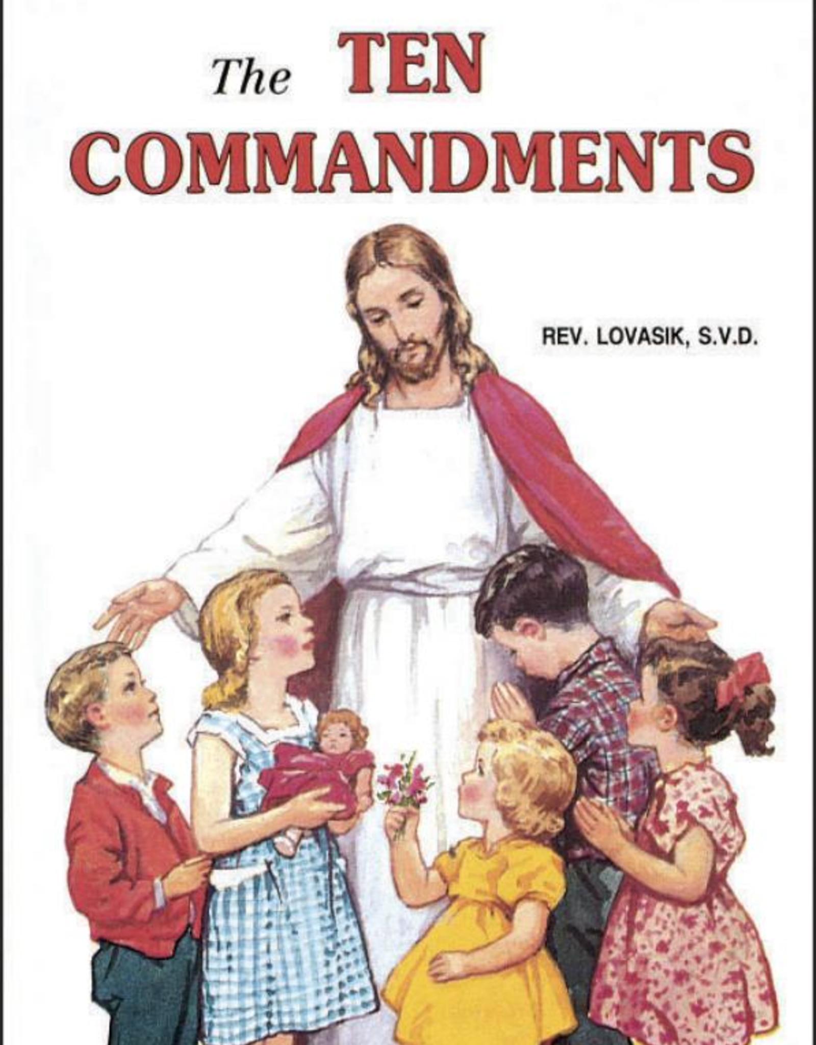 Catholic Book Publishing The Ten Commandments, by Rev. Lawrence Lovasik