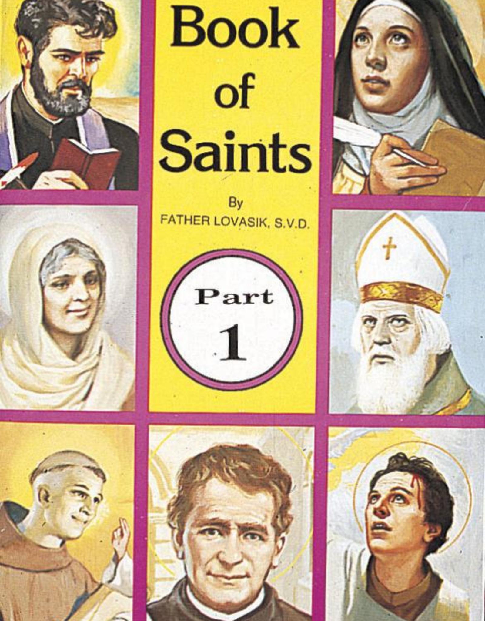 Catholic Book Publishing Book of Saints (Part 1), by Rev. Lawrence Lovasik
