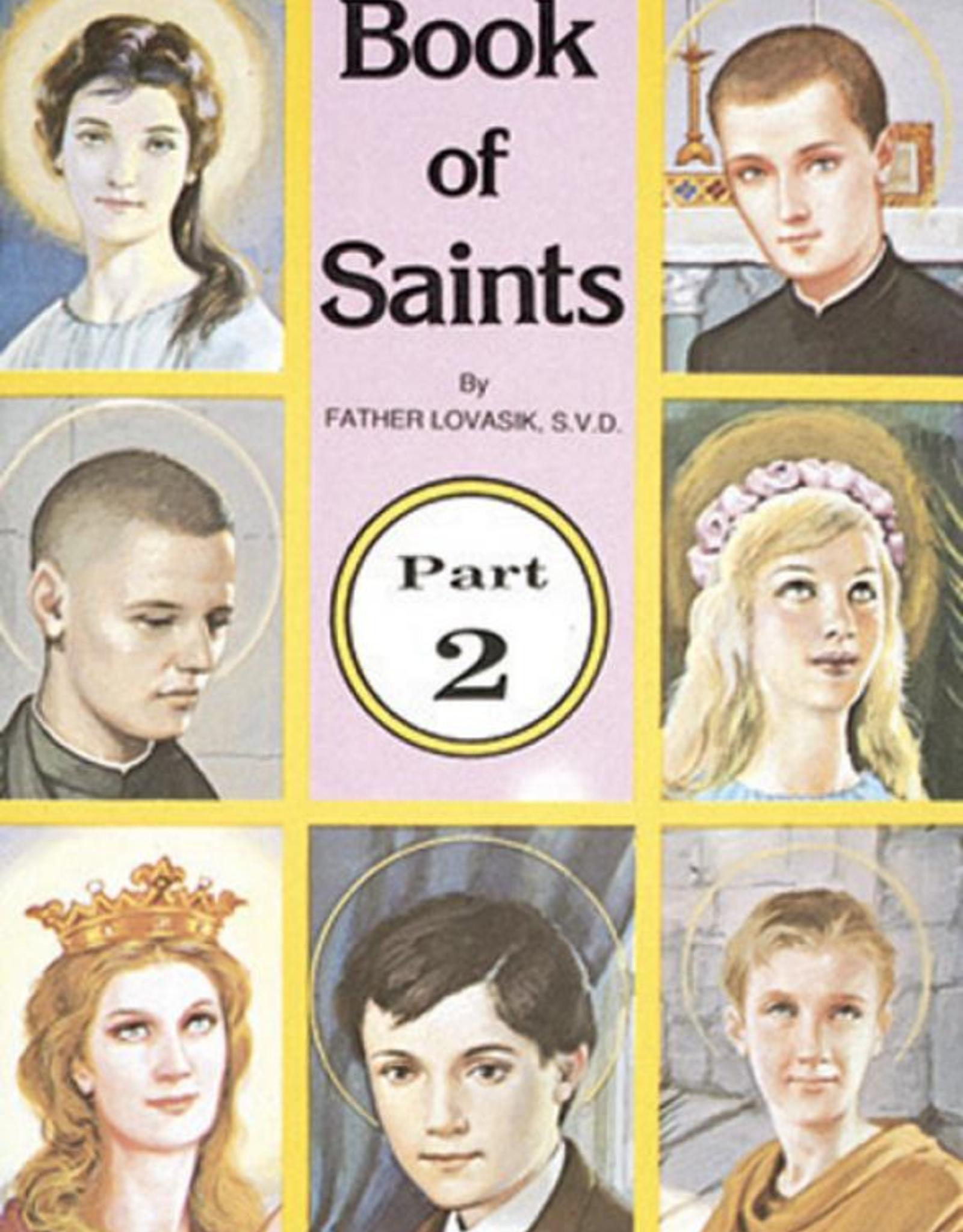 Catholic Book Publishing Book of Saints (Part 2), by Rev. Lawrence Lovasik