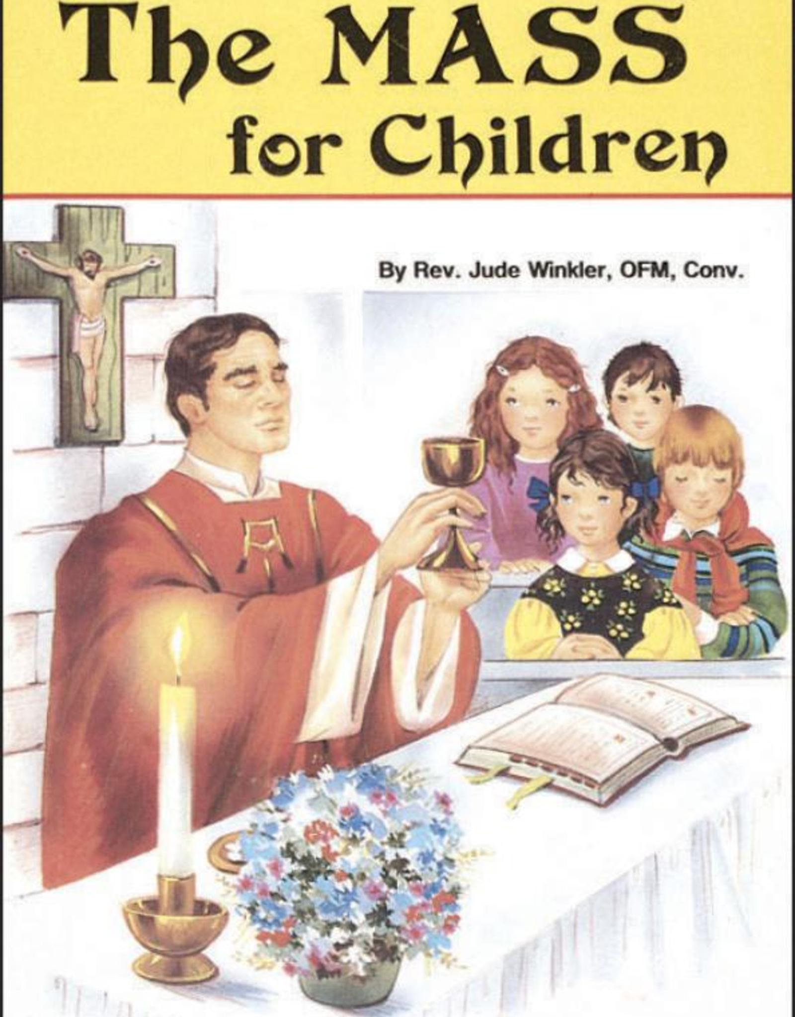 Catholic Book Publishing The Mass for Children, by Rev. Jude Winkler