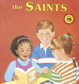 Catholic Book Publishing Coloring Book About the Saints, by Emma McKean