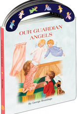 """Catholic Book Publishing Our Guardian Angels (St. Joseph """"Carry-Me-Along"""" Board Book), by George Brundage"""