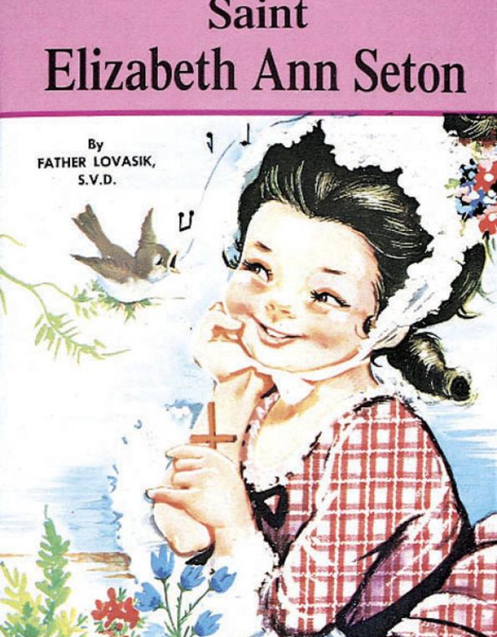 Catholic Book Publishing Saint Elizabeth Ann Seton, by Rev. Lawrence Lovasik