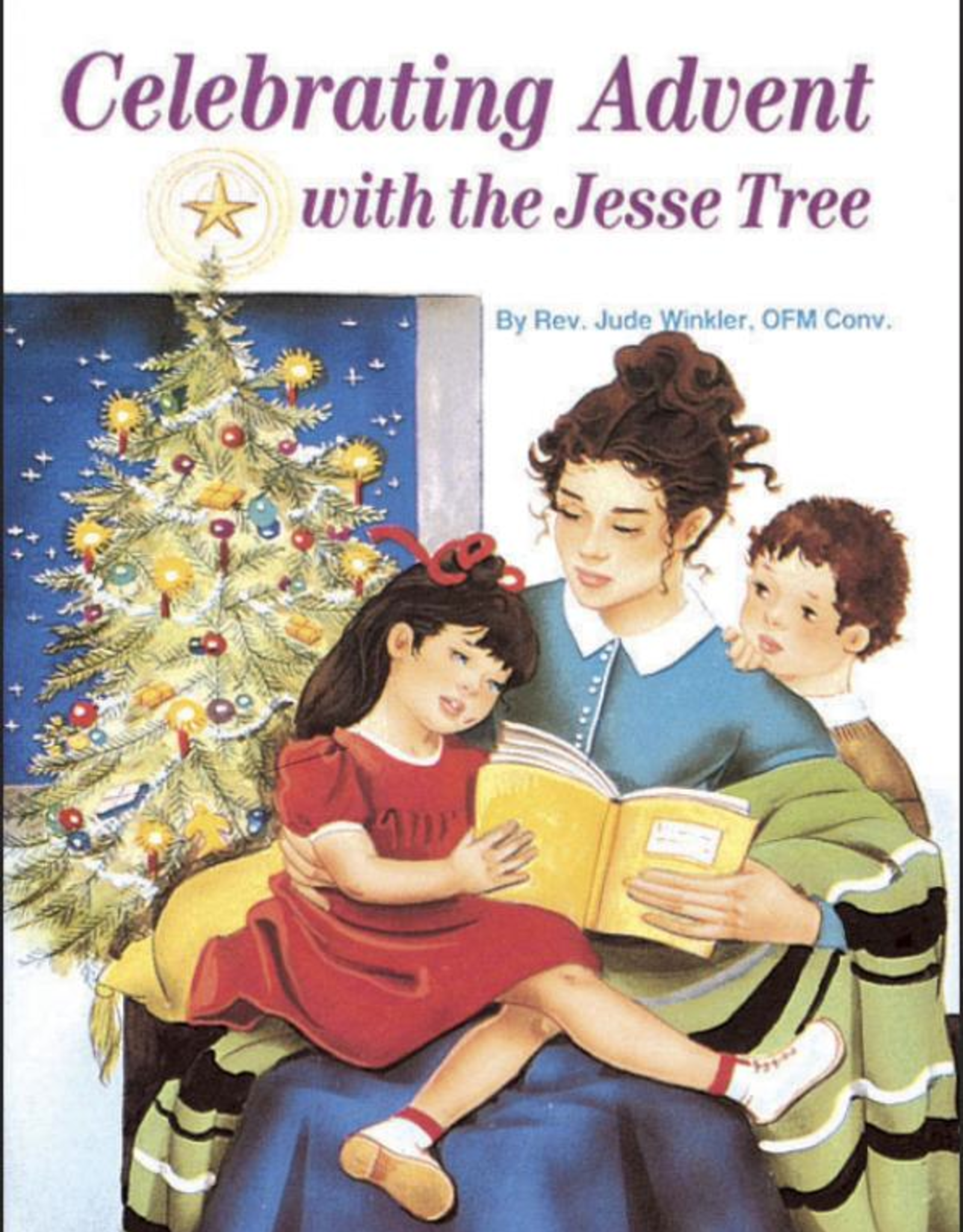 Catholic Book Publishing Celebrating Advent with the Jesse Tree, by Rev. Jude Walker