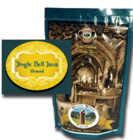 Mystic Monk Mystic Monk Jingle Bell Java- whole bean