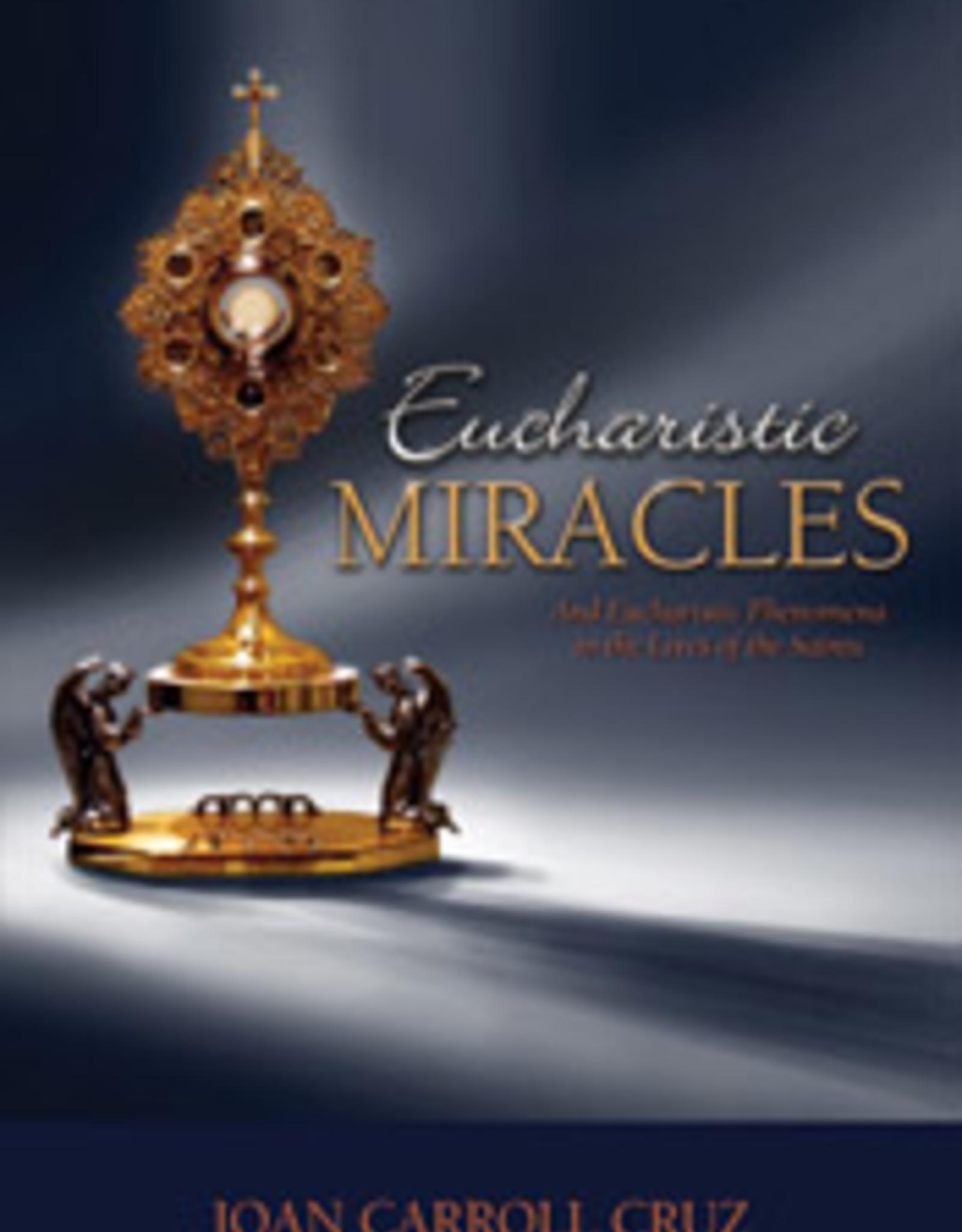 Tan Books Eucharistic Miracles, by Joan Carroll Cruz (paperback)