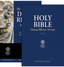 Tan Books Douay-Rheims Bible (Quality Paperbound- Large Print)