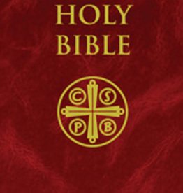 Tan Books New American Bible Revised Edition (Burgundy Hardcover)