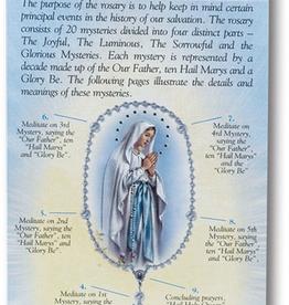WJ Hirten How to Pray the Rosary Folding Pamphlet