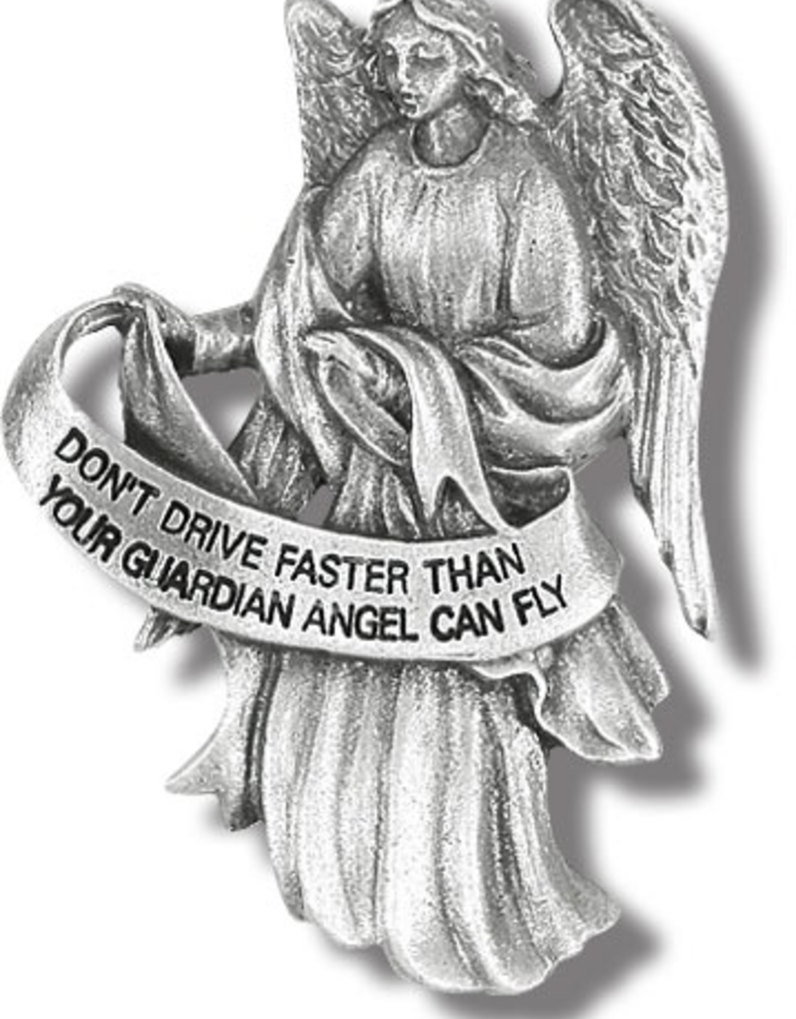 WJ Hirten Auto Visor Clip-- Guardian Angel