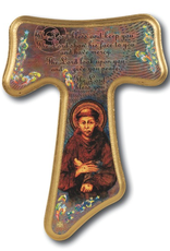 "WJ Hirten Franciscan Tau Cross 8"""