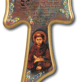 WJ Hirten Franciscan Tau Cross 8""
