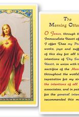 WJ Hirten The Morning Offering Holy Cards (25/pk)