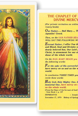 WJ Hirten The Chaplet of the Divine Mercy Holy Cards (25/pk)