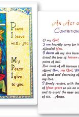 WJ Hirten An Act of Contrition Holy Cards (25/pk)