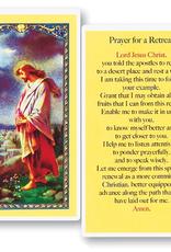 WJ Hirten Prayer for a Retreat Holy Cards (25/pk)