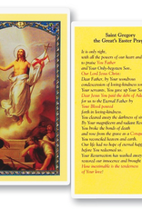 WJ Hirten St. Gregory The Great's Easter Prayer Holy Cards (25/pk)