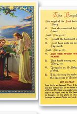 WJ Hirten The Angelus (Annunciation) Holy Cards (25/pk)