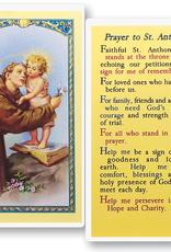 WJ Hirten St. Anthony Holy Cards (25/pk)