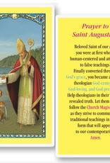 WJ Hirten St. Augustine Holy Cards (25/pk)
