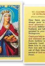 WJ Hirten St. Elizabeth of Hungary Holy Cards (25/pk)
